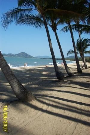 Palm Cove Beach near Cairns, this was the main beach I visited nearly every day of my stay in Cairns! :)
