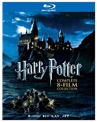 Amazon Com Harry Potter Complete 8 Film Collection Blu Ray Daniel Radcliffe Rupert Grint Em Harry Potter Movies Harry Potter Collection Movie Collection
