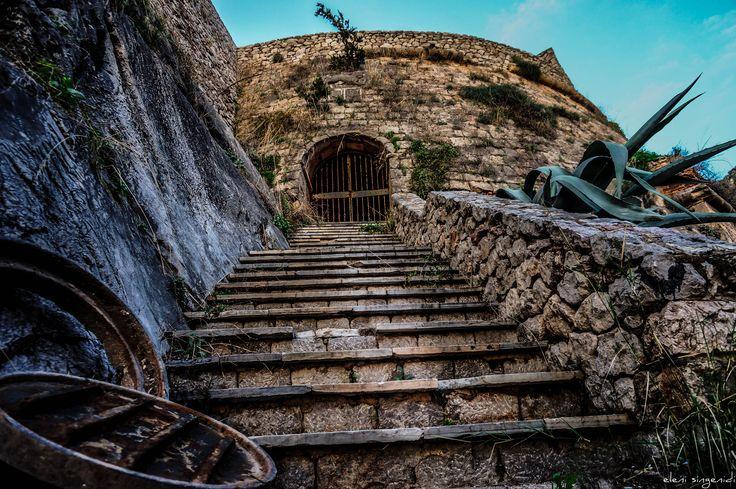 one the Akronafplia's gates - Nafplio - Peloponnese - Greece