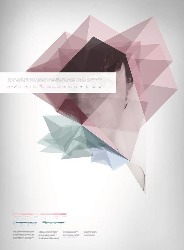 Unique Graphic Design on the Internet, Social Prism #graphicdesign #poster