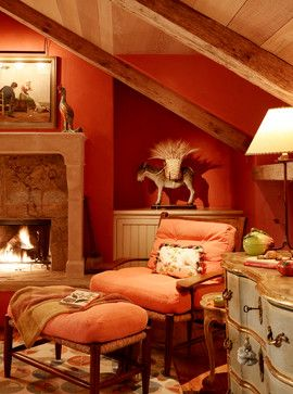 Vintage Retreat traditional-bedroom