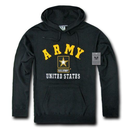 #US #Army Pullover Hoodie, Black, Medium http://amzn.