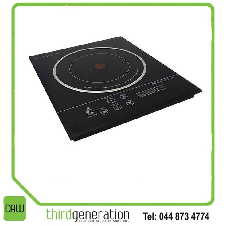 This elegant 1-plate Snappy Chef Stove is a must have in every home. It can either be built-in or used as a free standing, portable stove. The Snappy Chef 1-plate saves you at least 50% on electricity, is extremely safe to use, and also saves up to 64% on cooking time. Available from CAW Third Generation. #Snappychef #gardenroute