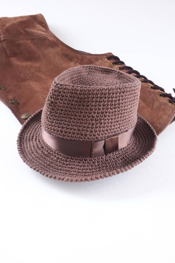 f66d4bd5272 Brown BabyToddler Fedora Hat Baby Photo Props Baby Boy Shower Gift ...