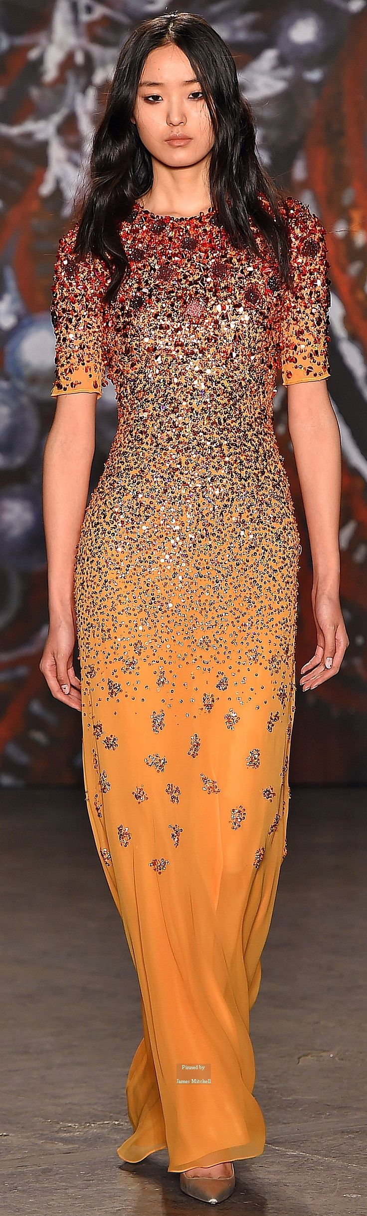 Jenny Packham Collections Fall Winter 2015-16 collection If you like this item, please visit http://www.shopcost.co.uk/gowns