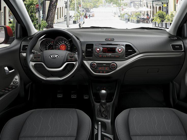 El interior del nuevo Kia Picanto ha sido creado como el espacio perfecto desde el que explorar la ciudad #NuevoKiaPicanto #CiudadPicanto #coches