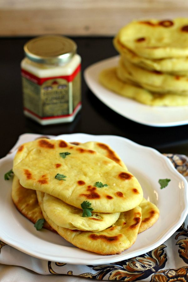How to make delicious Indian Naan Flatbread at home!