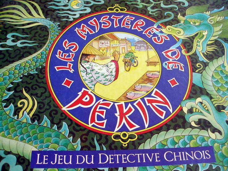 """Jeu de société """"Les mystères de Pekin"""""""
