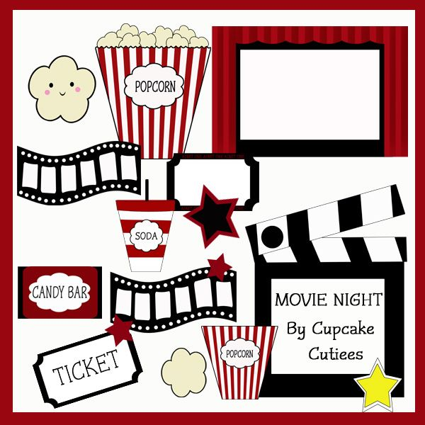 78 best Movie images on Pinterest Movie nights, Movie night - movie invitation template free