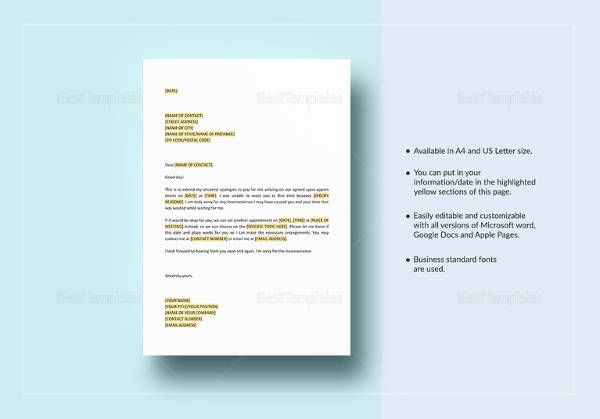 apology-for-missing-appointment-template