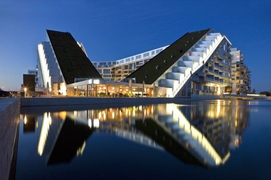 8 House by BIG - Copenhagen, Denmark  Completed 2009   Interesting Fact: Residents can bike all the way from the ground floor to the top