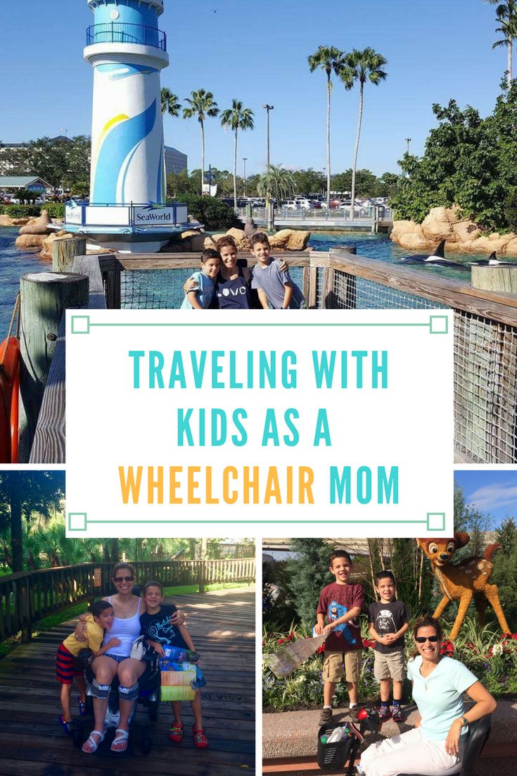 Traveling with Kids as a Wheelchair Mom