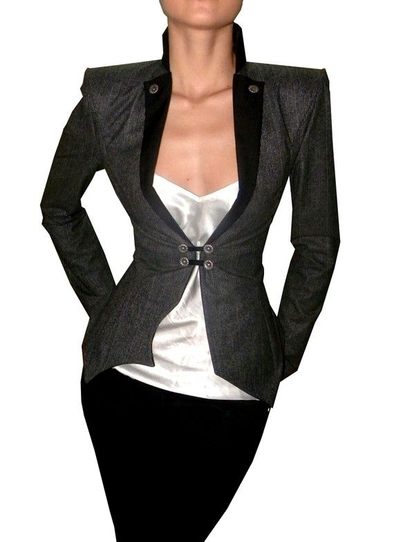 Helga Jacket $179.00  Would have worn the shit out of this with a corset and…