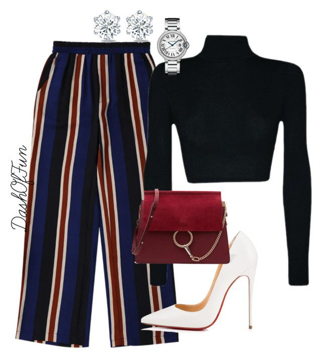 """""""07/04"""" by nkhanyile on Polyvore featuring Christian Louboutin and Chloé"""