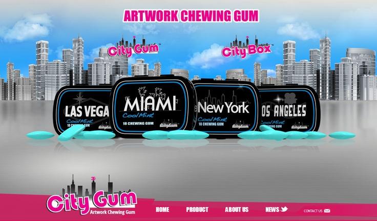 City Gum - Website Development