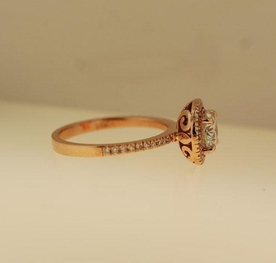 Eidelprecious anillo de compromiso diamante anillo compromiso