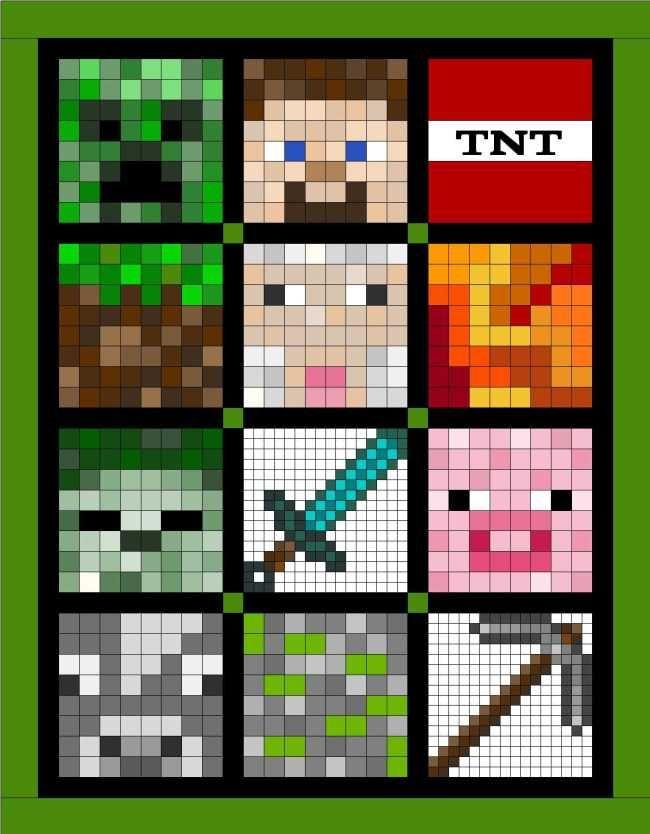 SOQ - Minecraft Quilt
