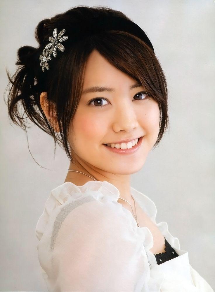 髪のアクセサリーが素敵な福田沙紀さん
