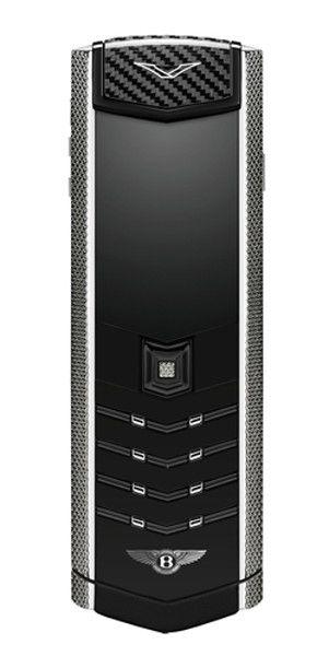 cool tech Vertu Signature fabrica un teléfono para Bentley