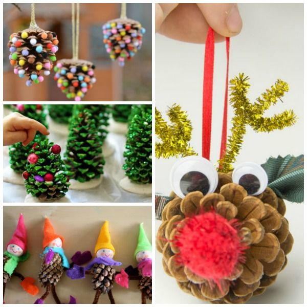 204 Best Images About CRAFTS-PINE CONE On Pinterest