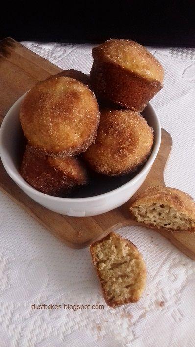Muffiny a'la pączusie