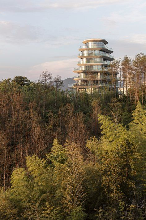 Huangshan Mountain Village, Huangshan City, 2017 - MAD architects