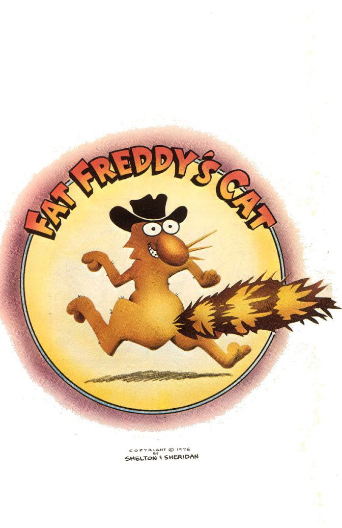 Fat Freddy's Cat by Gilbert Shelton (underground comics)