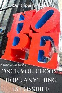 NY Hope sculpture