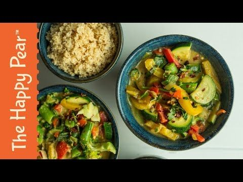 5 Minute Vegetable Curry  https://thehappypear.ie/recipe/5min-vegetable-curry/