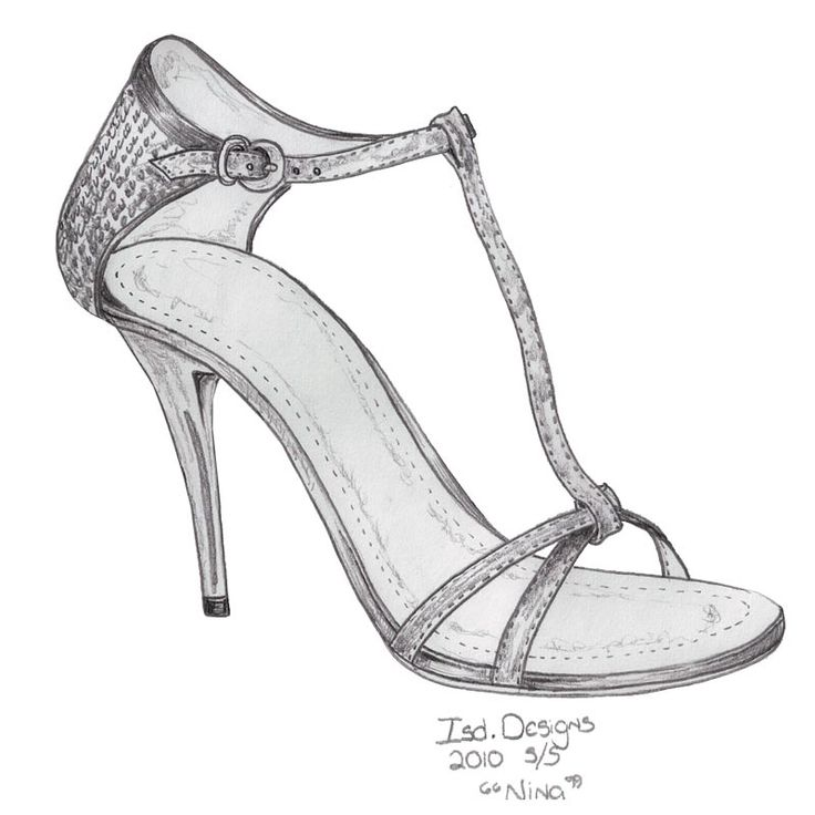 how to draw shoes sketchbook pdf