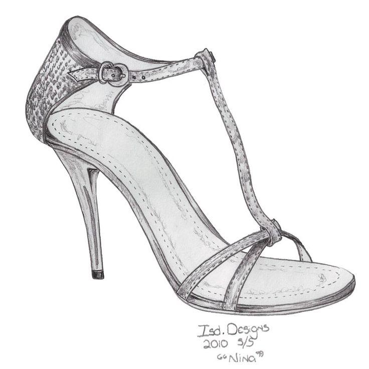 best 25 shoe drawing ideas on pinterest