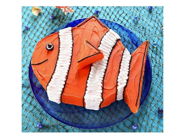 Best  Fish Birthday Cakes Ideas On Pinterest Fishing Cakes - Nemo fish birthday cake