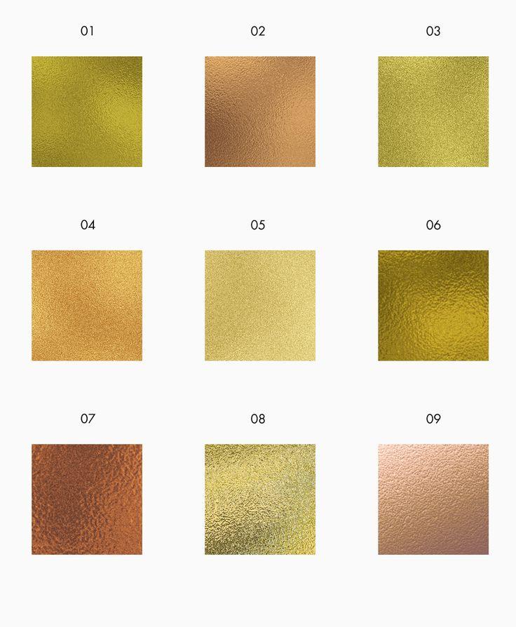 FREE Gold Foil Textures free stock texures darmowe tekstury do pobrania - złota folia - goldandberry gold and berry blog