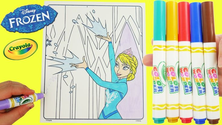 "Disney Frozen Elsa Color Wonder Glitter Magic Pen Art Set and Crayola Surprise Toys. Watch as I color in Elsa from Frozen with colors and find surprises on the magic paper.  Subscribe here to never miss a video: https://www.youtube.com/channel/UCsRW8ikkc-uISUXtNKBfFcw?sub_confirmation=1  - Watch my last video: https://youtu.be/TAq40IBuf7k  Frozen is a film inspired by fairytale called The Snow Queen. It is also called: ""Il regno di ghiaccio"" ""Lumekuninganna ja igavene talv"" ""La Reine des…"