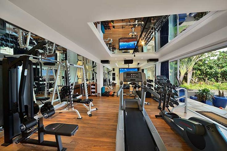 Jewel Of Maui Is An Sumptuous Beach Front Luxury Estate Located In Kapalua On Maui Island The Second Largest Of Dream Home Gym Extravagant Homes At Home Gym