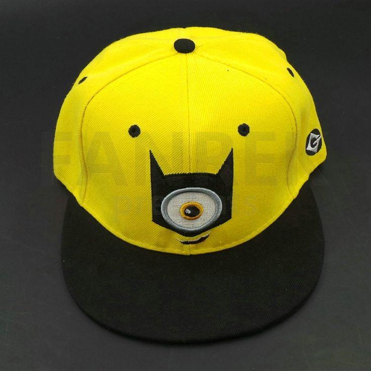 2015 Minions Movie Dave Stuart Tim Mark Accessories Hat