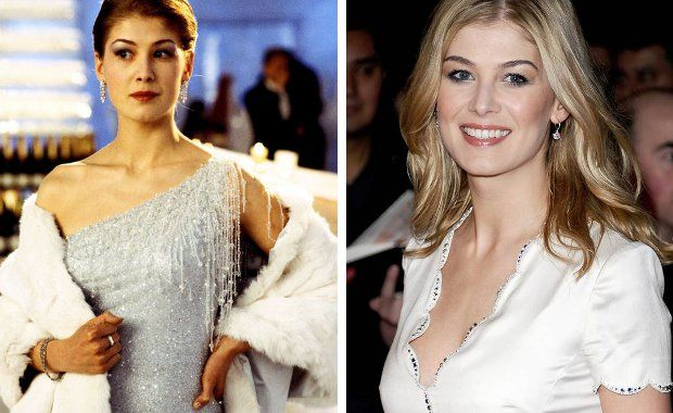 James Bond Girls – Then And Now - Rosamund Pike
