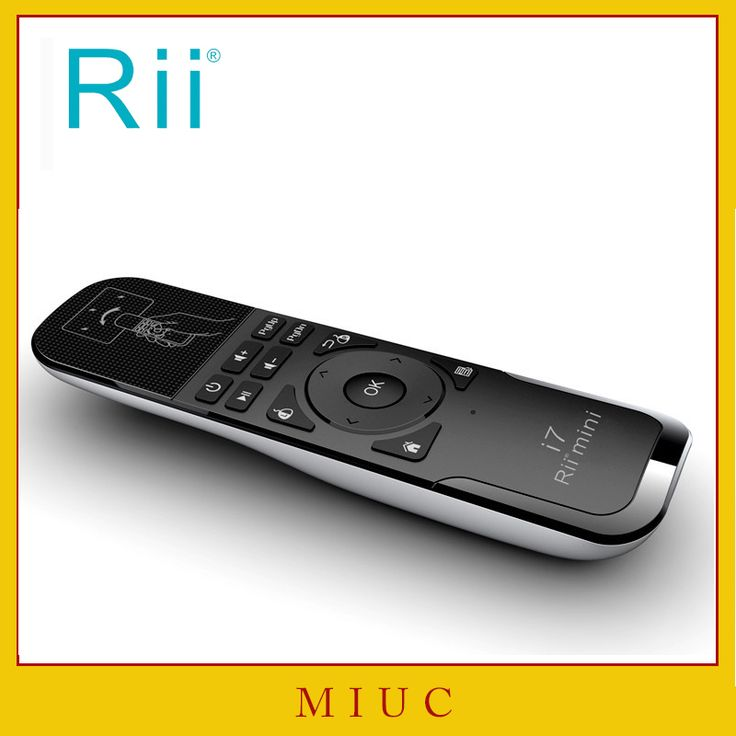[Rii] i7 mini fly air mouse 2.4 GHz wireless remote control built-in 6 axis untuk pc/smart tv/android kotak/gamer ps3 motion sensing