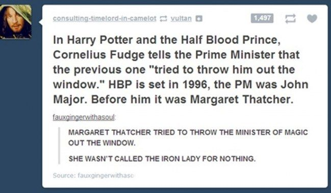Harry Potter was more political than anybody realised!