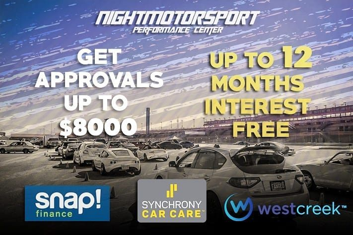 Here At Nightmotorsport We Understand That Modding And Maintaining Your Car Can Be Hard On Your Wallet That S Why We Offer Seve Good Credit Subaru Car Finance