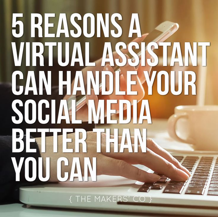 5 Reasons a Virtual Assistant can handle your social media better than you can