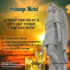 invoquer ange saint michel pierre topaze