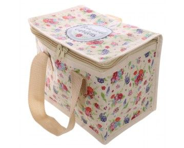 Pretyy floral pattern lunch bag now available at www.middletonwood.co.uk