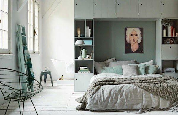 Inspiration from vtwonen | multifunctional bedrooms (via Bloglovin.com )
