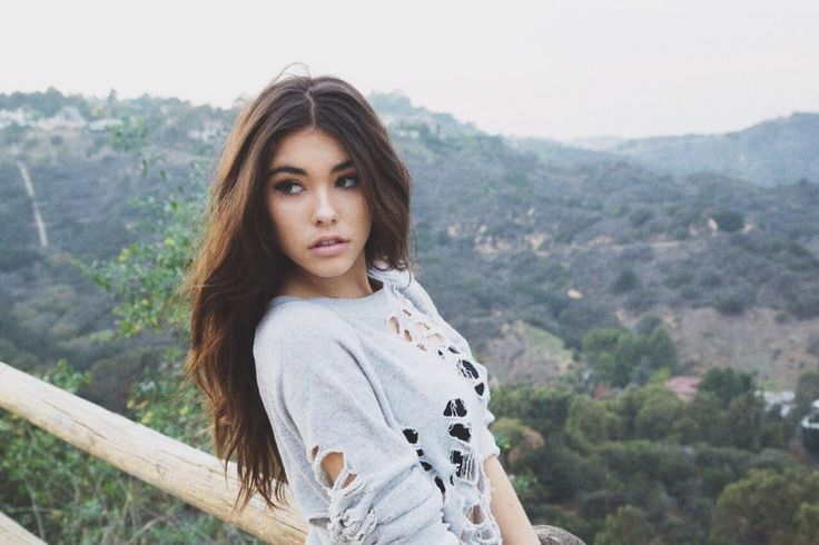 "[ Madison Beer ] ""H-Hi... I'm Jayden. I'm 17 years old and single. I love singing and dancing. I have a one year old son named James and I also have a older brother named Cameron. Introduce?"" I bite my lip"