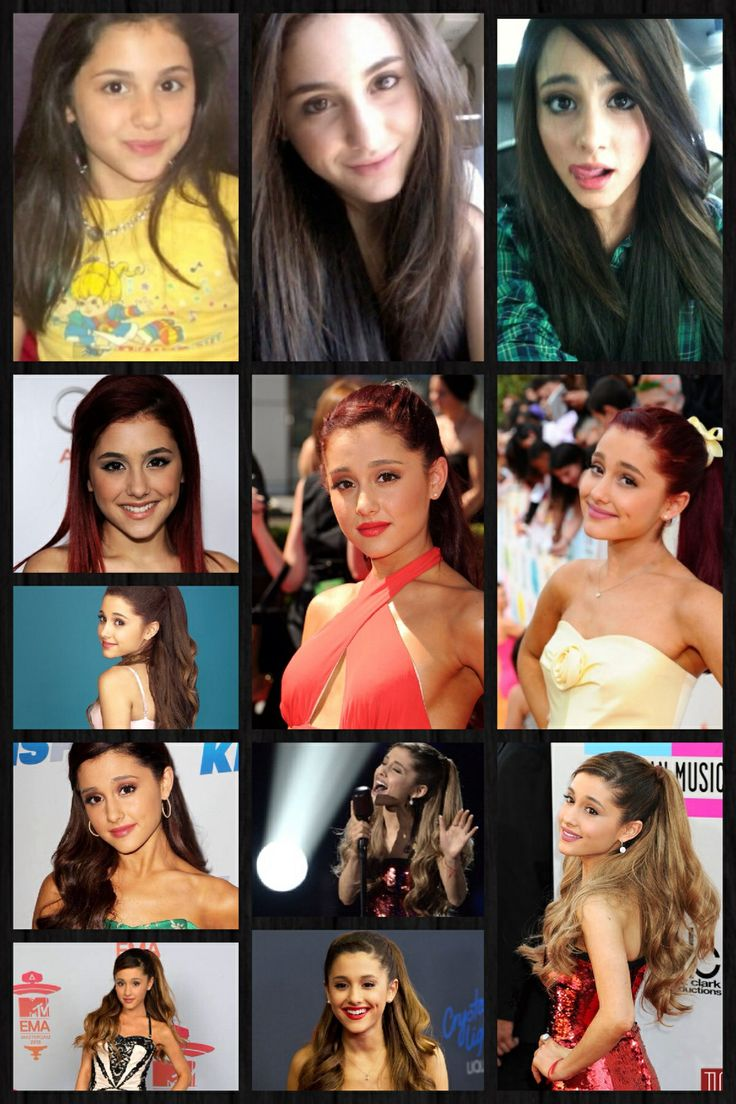 Ariana Grande Then and Now #Ariana #Grande #2014