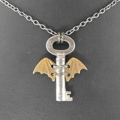 Winged Key, I love these bat wings! Great idea!