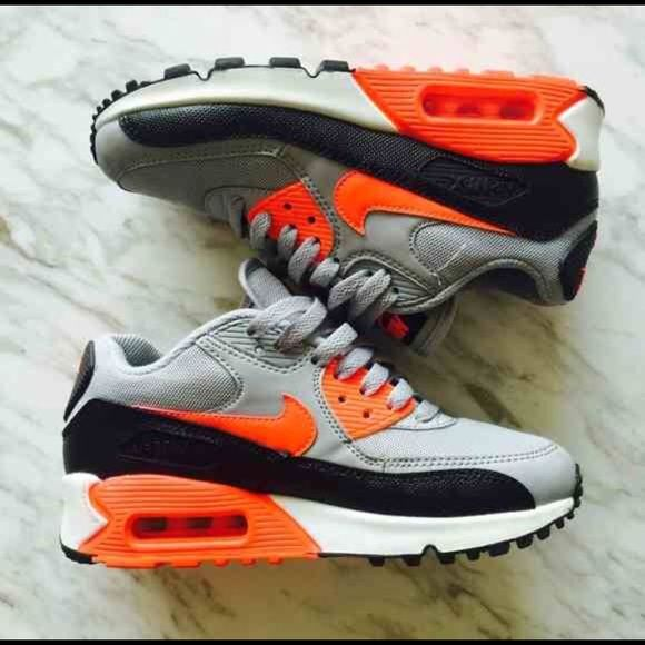 Nike Airmax 90 Infrared and Gray Bought on PM, never wore bc a tad too