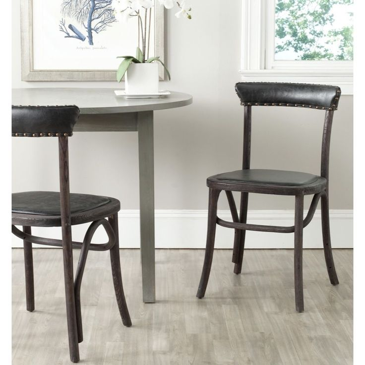 safavieh kenny antique black side chair set of 2 overstockcom shopping dining room