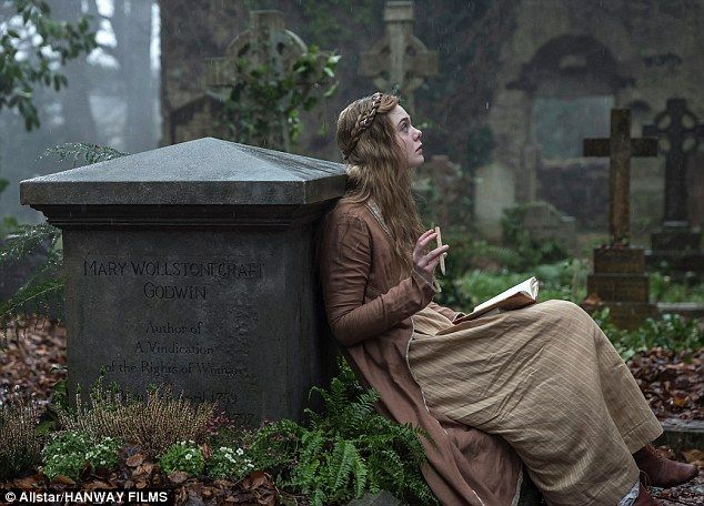 Eerie: Elle's recently played the iconic Frankenstein author Mary Shelley in an eponymous ...